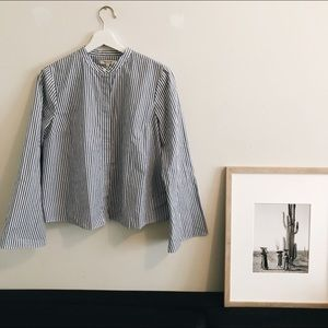 Madewell button down shirt.
